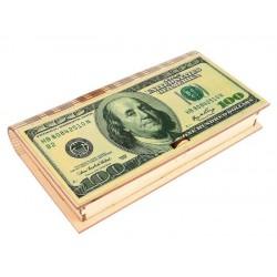 """Купюрница """"100 долларов"""" 17*9,5*2 см"""