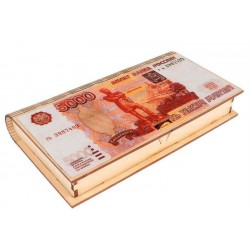 """Купюрница """"5000 рублей"""" 17*9,5*2 см"""