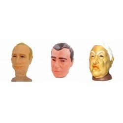"Маска латекс (3в1) ""Путин, Медведев, Ельцин"""
