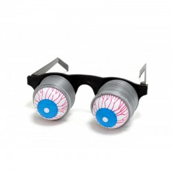 Очки карнавальные на пружине с выпадающими глазами
