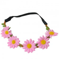 Ободок-венок с цветами (цвет: микс)