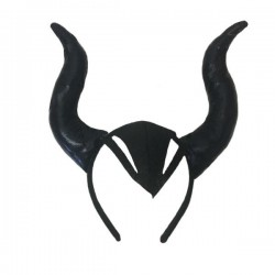 Рога чёрные кривые (Малефисента)