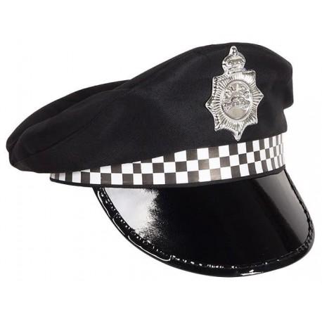 Фуражка полицейского (чёрная)