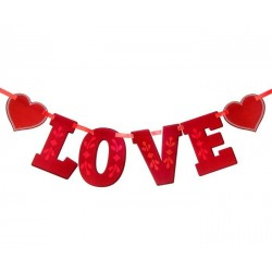 "Фотобутафория на ленте ""LOVE"""