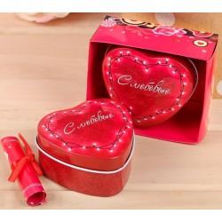 """Шкатулка и открытка """"С любовью"""" в подарочной коробке"""