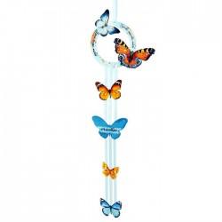 """Интерьерная подвеска """"Бабочки"""" (30см) дерево"""