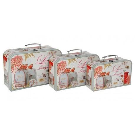 """Набор коробок 3 в 1 чемодан """"Почта"""""""