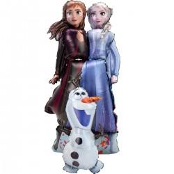"""Ходячая фигура """"Холодное сердце, Принцессы и Олаф """" 147см"""