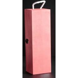 """Коробка для вина люск """"Красное дерево"""" 35х11х10"""