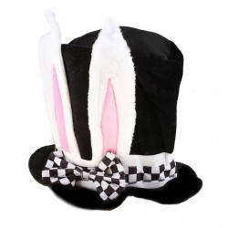 """Карнавальная шляпа """"С заячьими ушами"""""""