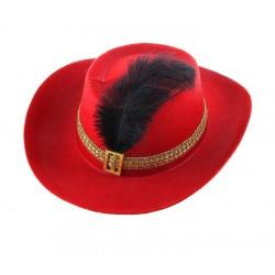 """Карнавальная шляпа """"С пером"""""""