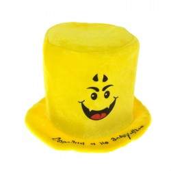 """Карнавальная шляпа смайлик """"Сегодня я не добрый..."""""""