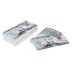 "Салфетки ""Пачка денег 50$"" 25шт."