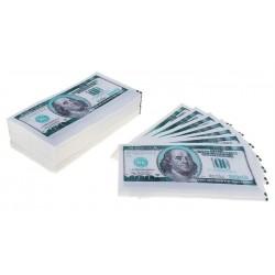 "Салфетки ""Пачка денег 100$"" 25шт."