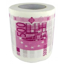 "Туалетная бумага ""500 евро"" новый дизайн"