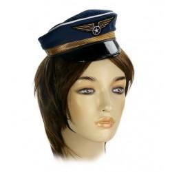 """шляпка на резинке """"Летчик"""""""