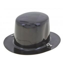 """Шляпка мини пластик """"Черная"""""""