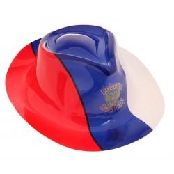"""Шляпа пластик """"Россия вперед!"""""""