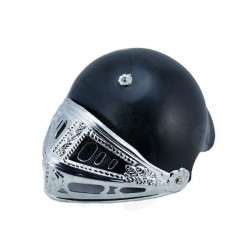 Шлем рыцаря черный