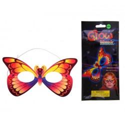 Маска-бабочка неон