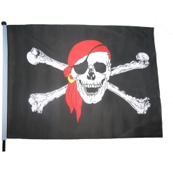 Флажок пирата средний