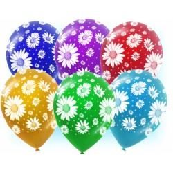 """Геливый шарик  """"12"""" с рис. круговая и цвет. печать"""