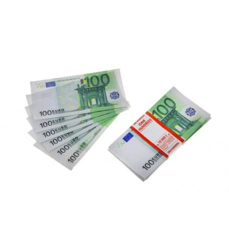 """Пачка денег """"100 евро"""""""