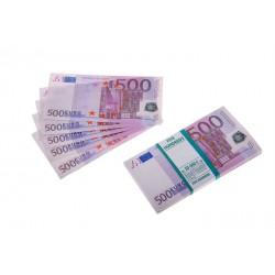 """Пачка денег """"500 евро"""""""