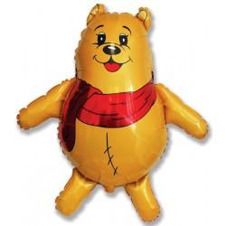 Фигура медвежонок в шарфе 84/81см