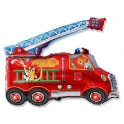 Фигура пожарная машина 79/79см