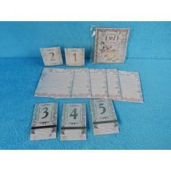 Банкетная карточка (набор)