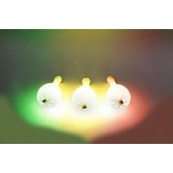 Шар латекс 12/30см светящийся 3D пастель