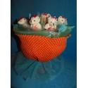 Букет из игрушек на подставке (ПМ-001703)