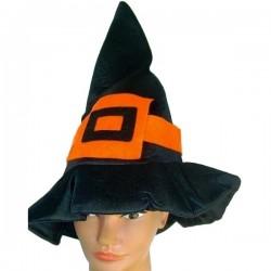 Колпак ведьмы с оранжевой бляшкой