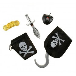 Набор пирата с крюком (5 предметов)