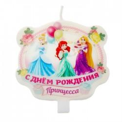 """Свеча в торт """"Принцессы"""""""