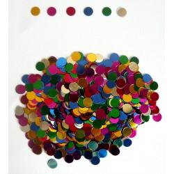 """Конфетти """"Круги"""" разноцветные 14гр"""