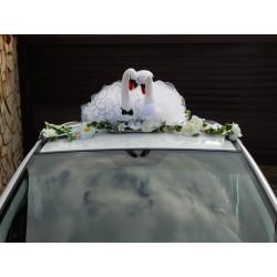 "Украшение на крышу ""Лебеди"" (фатин)"