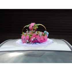"Кольца авто ""Цветочная поляна""  СК-001894"