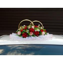 """Кольца авто """"Яркие цветы""""  СД-001896"""