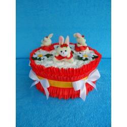 Торт из памперсов  (ПМ-001929)