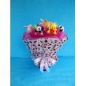 Букет из игрушек на подставке (ПМ-001932)