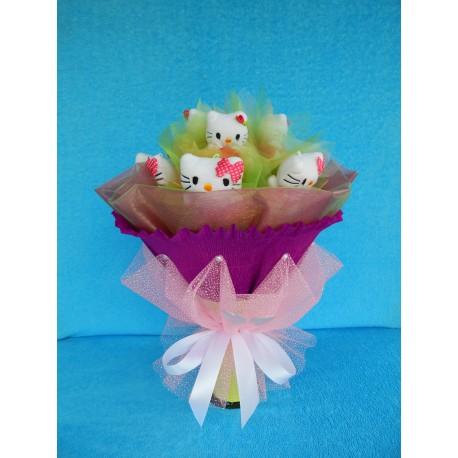 Букет из игрушек на подставке (ПМ-001933)