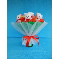 Букет из игрушек на подставке (ПМ-001934)