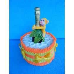 Торт из памперсов с шампанским (ПМ-001968)