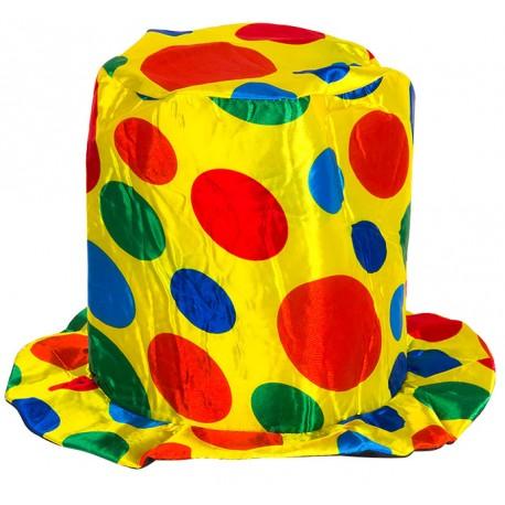 """Карнавальная шляпа клоуна """"Цветные круги"""""""
