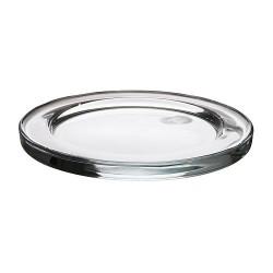 Подсвечник тарелка (стекло)