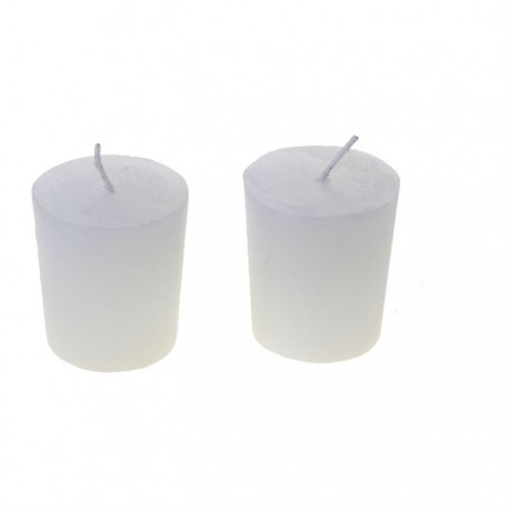 Свеча столбик (43*82мм) белая