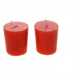 Свеча столбик (43*82мм) красная
