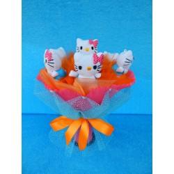Букет из игрушек на подставке (ПМ-001683)